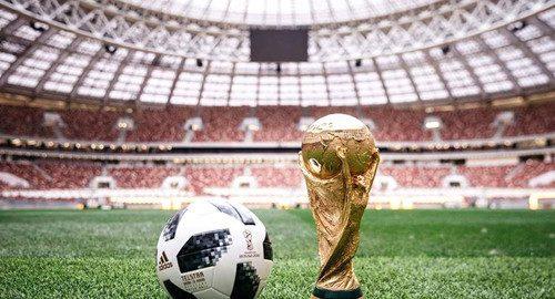 2018 Rusland WK-stadion parade
