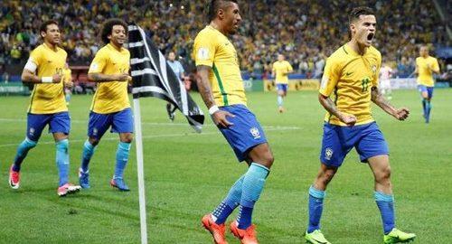Brazilië is een van de topteams in de WK-competitie van 2018
