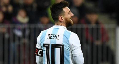 Eind mei vindt Argentinië een vriendschappelijke wedstrijd met Spanje