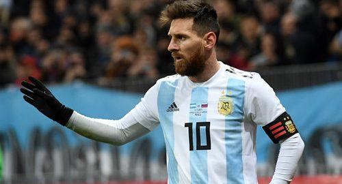 Nationaal team van IJsland graag tegen Lionel Messi spelen